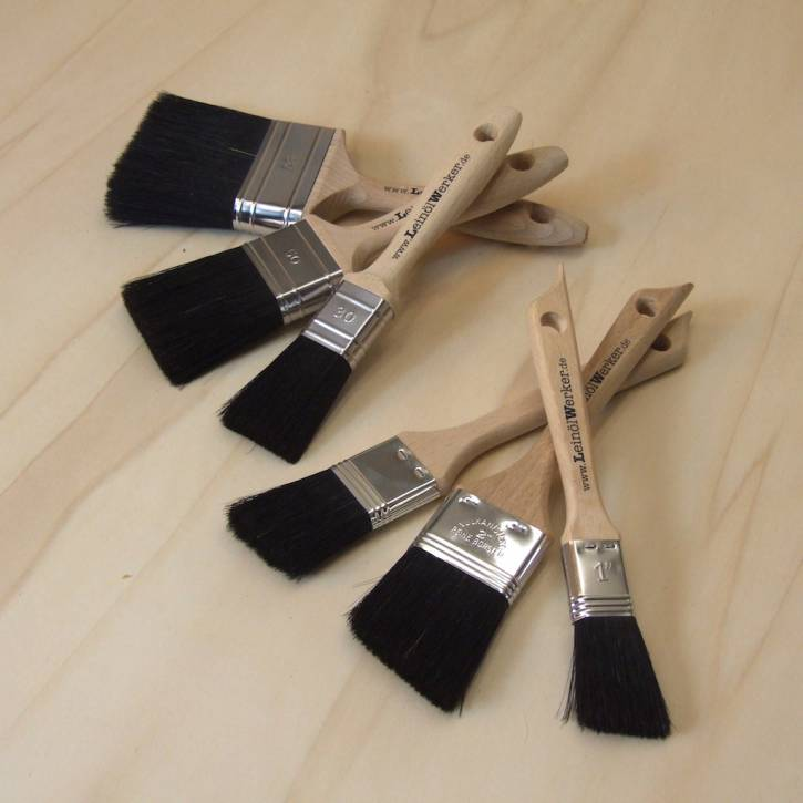 Flach- & Fensterpinsel Set 5 Pinsel