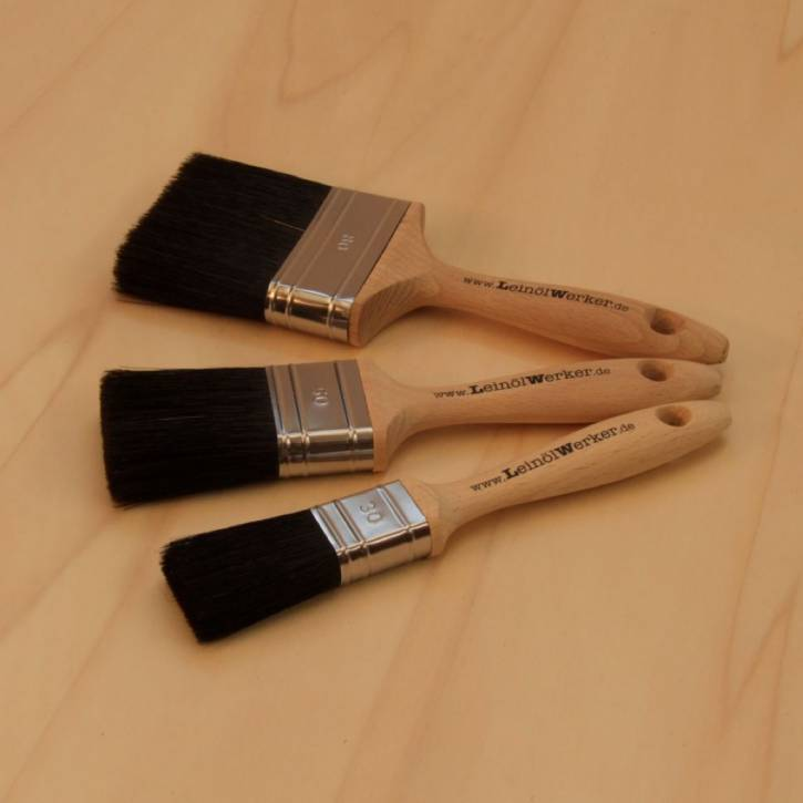Flachpinsel, schwarz