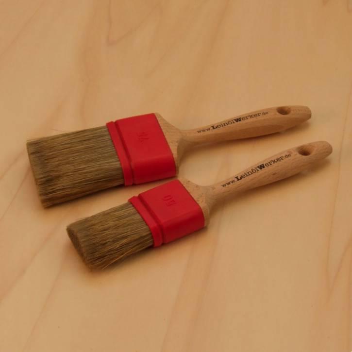 Metallfreie Flachpinsel